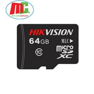 [Mã ELFLASH5 giảm 20K đơn 50K] Thẻ Nhớ Hikvision 64Gb 92MB/s C1 - Hàng Chính Hãng Bảo Hành 5 Năm