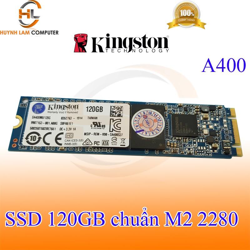 Ổ cứng SSD 120gb KingSton A400 M2 2280 Vĩnh Xuân phân phối
