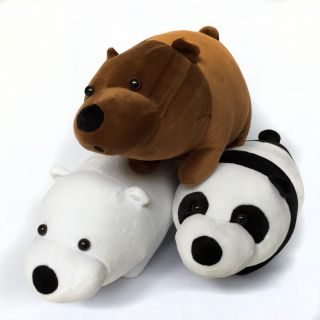 Combo 3 gấu bông Huggies mềm mại, dịu êm