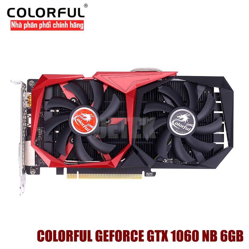 Card màn hình Colorful Geforce GTX 1060 NB 6GB - 3080263 , 762144722 , 322_762144722 , 9100000 , Card-man-hinh-Colorful-Geforce-GTX-1060-NB-6GB-322_762144722 , shopee.vn , Card màn hình Colorful Geforce GTX 1060 NB 6GB