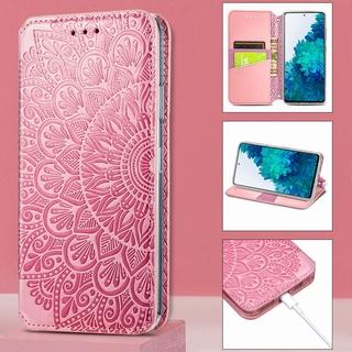 Bao Da Nắp Gập Từ Tính Thời Trang Cho Samsung Galaxy S20 S21 S30 Plus S20