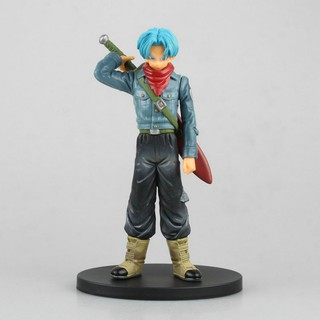 Mô hình(Figure) Dragon Ball DXF The Super Warriors Vol.1 – Trunks Blue Hair (Trunks tóc xanh) (Cao 18cm có box)