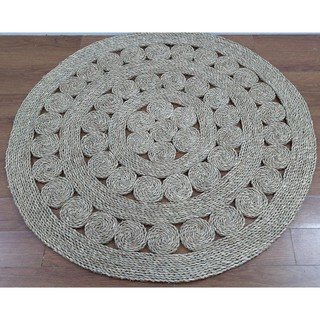 Thảm cói tròn chup ảnh D90cm