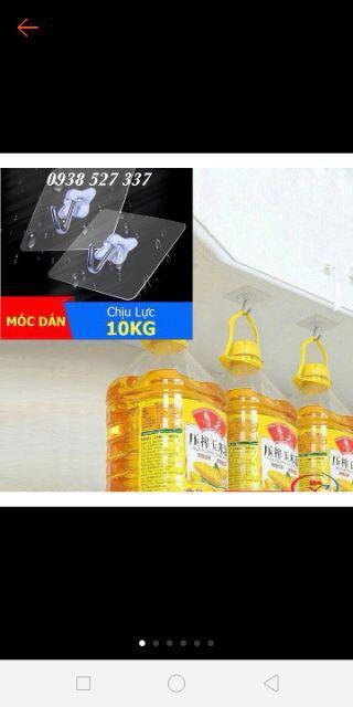 Đánh giá sản phẩm Combo 10 móc dán tường cường lực siê chắc giá rẻ của thao244