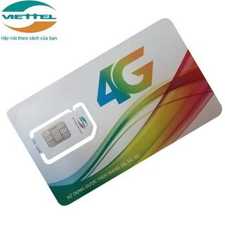 SIM 4G VIETTEL D500 D500U D900 trọn gói 1 năm không nạp tiền
