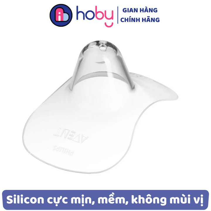 Miếng dán bảo vệ đầu ngực PHILIPS AVENT cỡ chuẩn 15mm 21mm - Núm trợ ti chống đau ngực giúp con bú lâu hơn