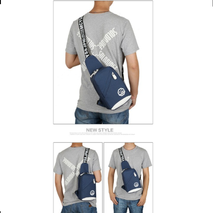 Túi đeo chéo nam nữ Ohazo! T16
