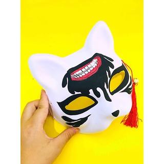 Mặt nạ mèo vẽ (Mask fox/cat -cosplay) mã DDJ21 Zgiá sập kh1