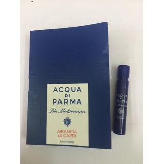Mẫu thử Nước Hoa Acqua di Parma Blu Mediterraneo  Arancia di Capri EDT 1.2ml
