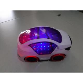 Xe ô tô nhạc đèn