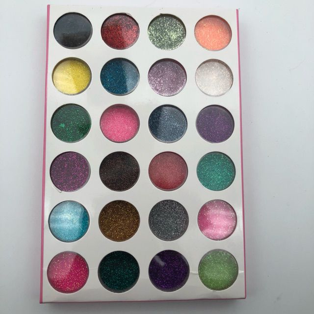 Phụ kiện trang trí móng nhũ rắc 24 màu nhũ mịn - 14139651 , 1957330529 , 322_1957330529 , 70000 , Phu-kien-trang-tri-mong-nhu-rac-24-mau-nhu-min-322_1957330529 , shopee.vn , Phụ kiện trang trí móng nhũ rắc 24 màu nhũ mịn