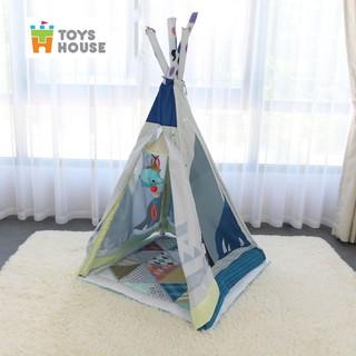 Lều vải kết hợp thảm nằm chơi cho bé 2 trong 1 Konig kids JL634