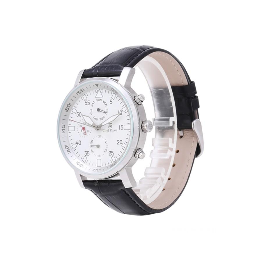 Đồng hồ nam chính hãng Royal Crown Italy 5603 Leather Watch