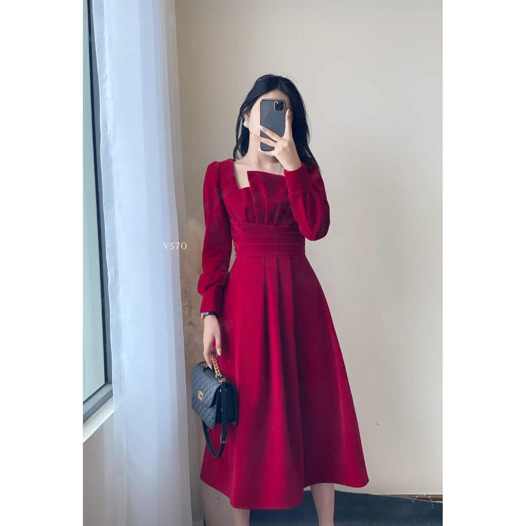 Mặc gì đẹp: Sang chảnh với Đầm dự tiệc xòe tay phồng cách điệu Julliet Dress [HÀNG CÓ SẴN]