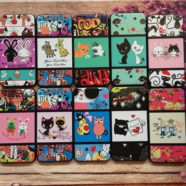 Ốp iPhone 6 plus /6s plus viền dẻo họa tiết full nổi hình thú siêu kute