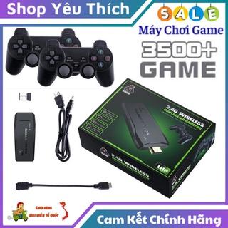 Máy Chơi Game Cầm Tay 4 Nút Kết Nổi Qua Cổng HDMI Gồm 3500 Trò Chơi Tổng Hợp Cổ Điển PS1 Nitendo Switch FC Compact FC thumbnail