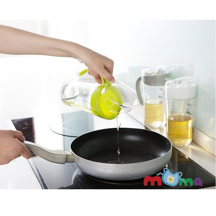 Bình, chai, lọ thủy tinh nắp nhựa Oil Can đựng dầu ăn,giấm,nước tương,nước mắm,dung dịch,dung tích 6