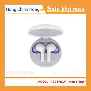 Tai nghe không dây LG Tone Free HBS-FN6 Màu Trắng - 100% Hàng Chính Hãng