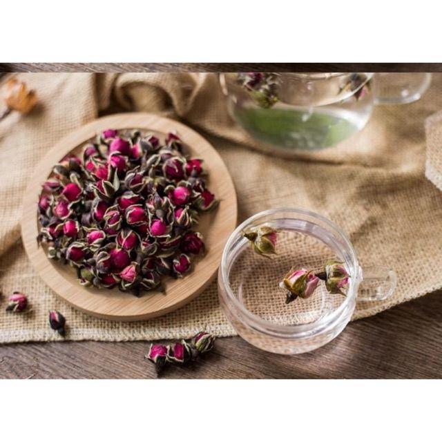 100gr nụ hồng Tây Tạng, hoa hồng Sơn Đông sấy khô nguyên chất hàng chuẩn loại 1
