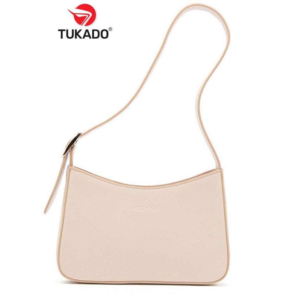 Túi Xách Nữ Đeo Vai 𝐌𝐈𝐂𝐎𝐂𝐀𝐇 Dáng Công Sở Thời Trang Mẫu Mới Hot 2020 MC30 - Tukado