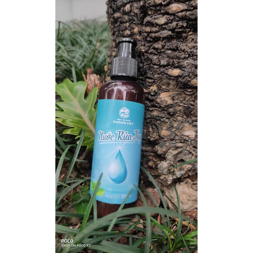Nước rửa tay thảo dược Thông Cát- hỗ trợ sức khỏe cho mẹ và bé