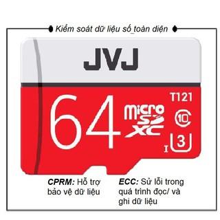 Thẻ nhớ 64Gb JVJ , Sandisk , Netac Pro U3 Class 10 – Chuyên dụng CAMERA tốc độ cao , camera hành trình GoPro ( thẻ trần)