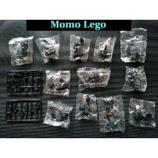 Đồ chơi mô hình lego COMBO 12 nhân vật CẢNH SÁT CƠ ĐỘNG No.1620 (không kèm hộp)