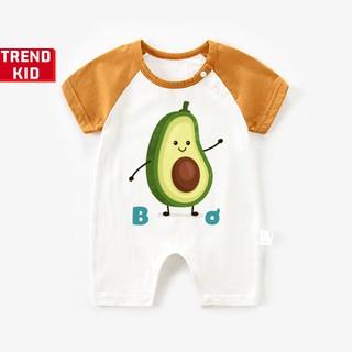 [Mã TREND20 giảm 15% đơn 99K] Bodysuit cho trẻ sơ sinh in hình quả Bơ Michley