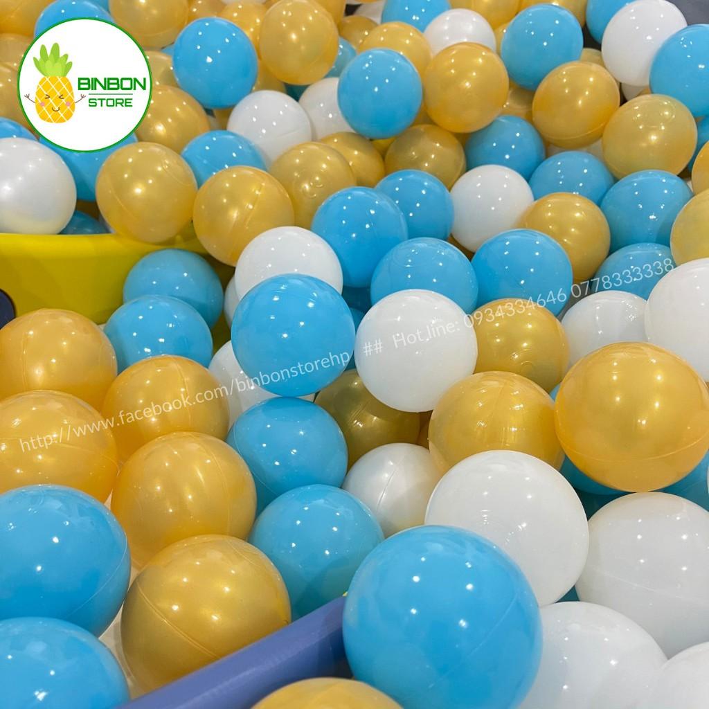 Bóng Nhựa Cho Bé (Sét 10 Quả Phi 7.5 Cm- Khách Chọn Màu) Bóng Nhựa Nhà Banh Bóng Nhựa An Toàn Cho Bé