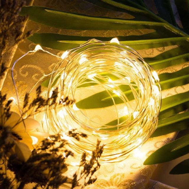 Dây đèn led đom đóm dài 3 mét trang