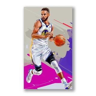 Tranh Treo Tường Hình Cầu Thủ Bóng Rổ Kobe Bryant