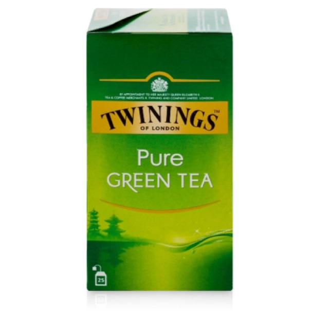 Trà túi lọc trà xanh tinh khiết Twinings Pure Green Tea 25 túi - 2498618 , 475400661 , 322_475400661 , 205000 , Tra-tui-loc-tra-xanh-tinh-khiet-Twinings-Pure-Green-Tea-25-tui-322_475400661 , shopee.vn , Trà túi lọc trà xanh tinh khiết Twinings Pure Green Tea 25 túi