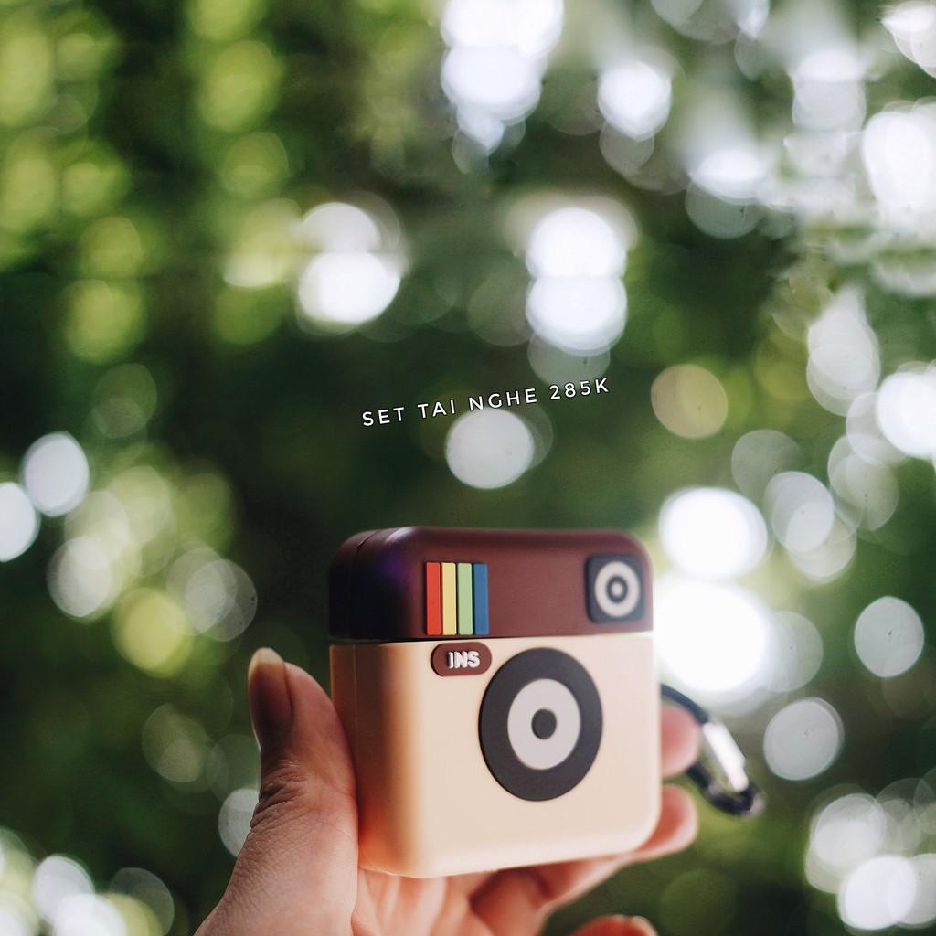 VỎ ỐP TAI NGHE BLUETOOTH AIRPODS - Mẫu Instagram