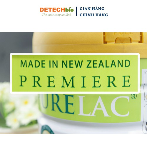 Combo 2 sữa bột PURELAC 1 800g nhập khẩu New Zealand