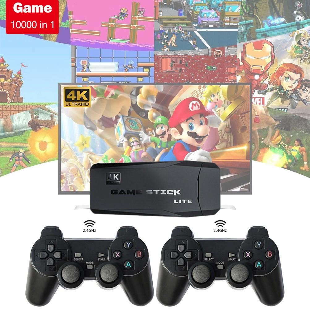 Bộ bảng điều khiển chơi game 10000 game TV trong 1 kèm tay cầm chơi game AV/HDMI cho Nintendo Ps1 M8 chất lượng cao