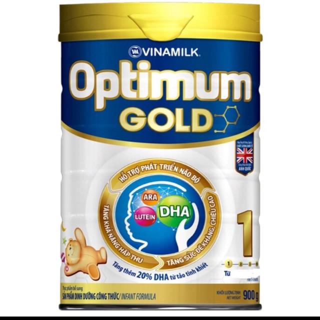 Sữa optimum gold số 1 lon 900g(date 2020)