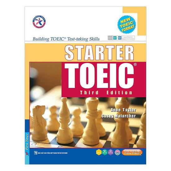 Sách - Starter Toeic Third Edition (Kèm 3CD) - 2392904075535