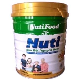 Sữa bột nguyên kem Nutifood lon 900gam