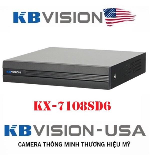 Đầu ghi hình 8 kênh (5 in 1) kbvision kx-7108sd6