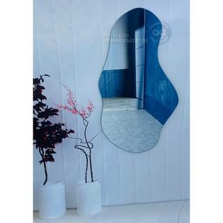 Gương soi toàn thân Gương soi nhà tắm Gương nhà tắm Gương trang điểm Gương hạt đậu Vintage HD size lớn 80*180cm