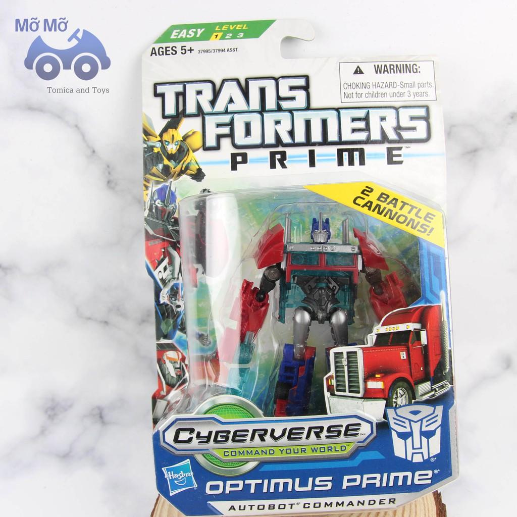 Mô hình robot Transformer Prime có hộp