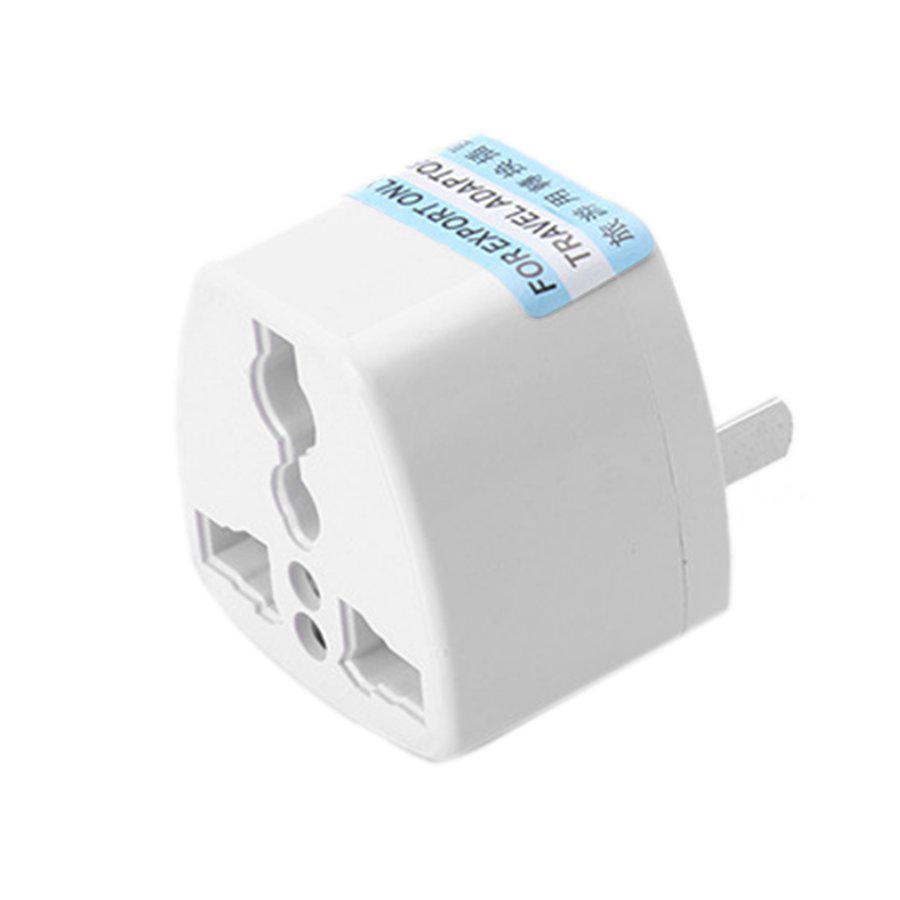Ele】Phích cắm điện chuyển đổi ổ 3 chấu thành 2 chấu - chuyển đổi sạc 3 chân  - đầu nối ổ cắm 3 cực đa năng 10A 250V giá cạnh tranh