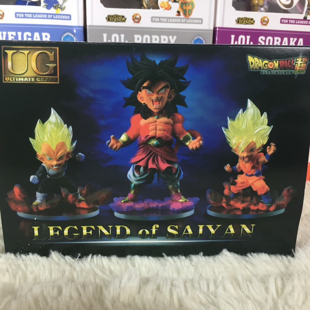 [Chính Hãng] Set 3 mô hình Legend of Saiyan