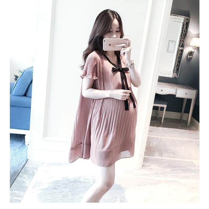 Mặc gì đẹp: Sang trọng với Đầm Bầu Váy Bầu Thiết Kế Công Sở Dự Tiệc VB01