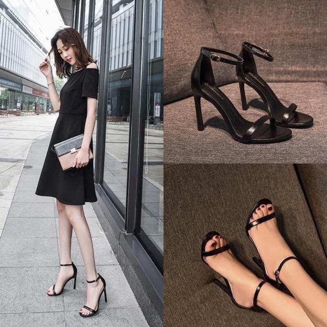 Giày Sandal Quai Mảnh Thần Thánh