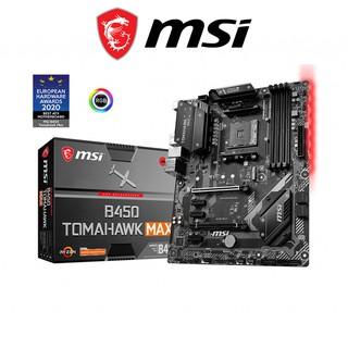 Bo mạch chủ Mainboard MSI B450 TOMAHAWK MAX AMD B450, Socket AM4, ATX, 4 khe RAM DDR4 thumbnail
