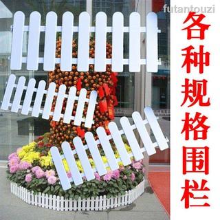 Hàng Rào Trắng Bằng Nhựa Pvc Trang Trí Lễ Hội