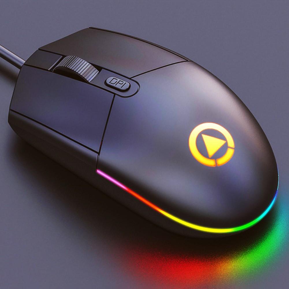 Chuột Chơi Game Có Đèn Led Nhiều Màu Sắc