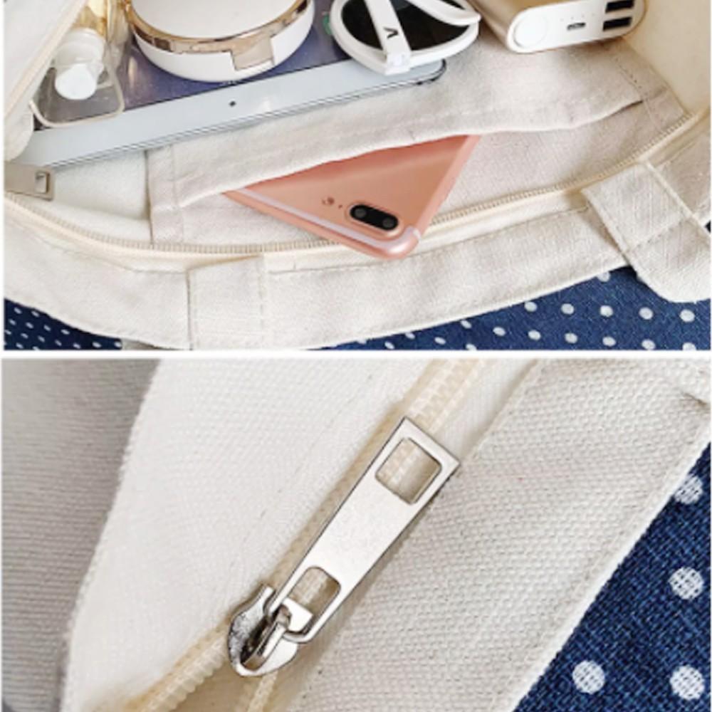 Túi Vải Tote GINKO Kiểu Basic In Hình Yeah G05