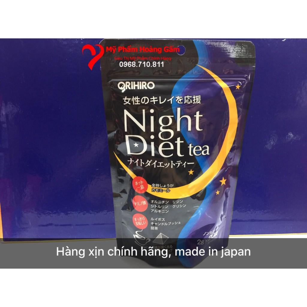 Trà giảm cân night diet tea Orihiro Nhật Bản 20 gói - 3396525 , 1279974851 , 322_1279974851 , 160000 , Tra-giam-can-night-diet-tea-Orihiro-Nhat-Ban-20-goi-322_1279974851 , shopee.vn , Trà giảm cân night diet tea Orihiro Nhật Bản 20 gói